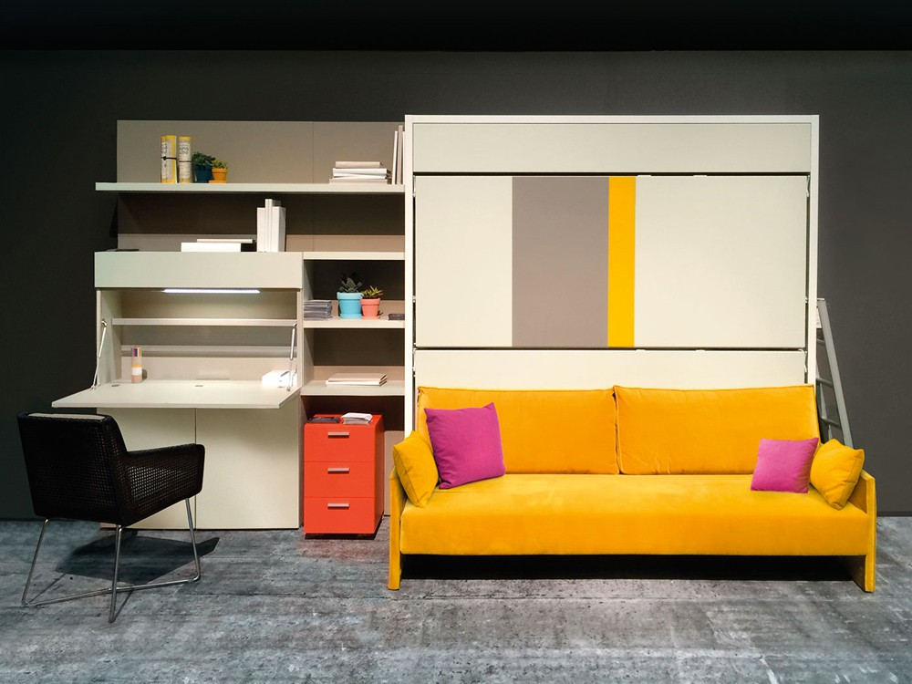 Murphy Bed And Sofa Combo. Clei Beds Home Pwt. Home Design ...