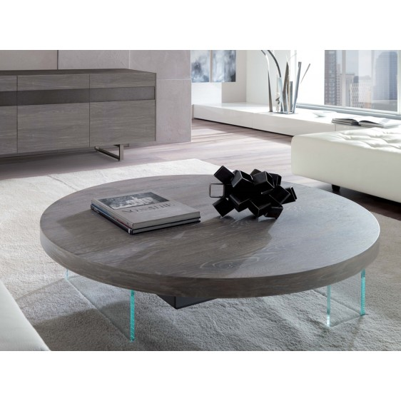 Elevating multifunctional table Ozzio T061 Bellagio Round