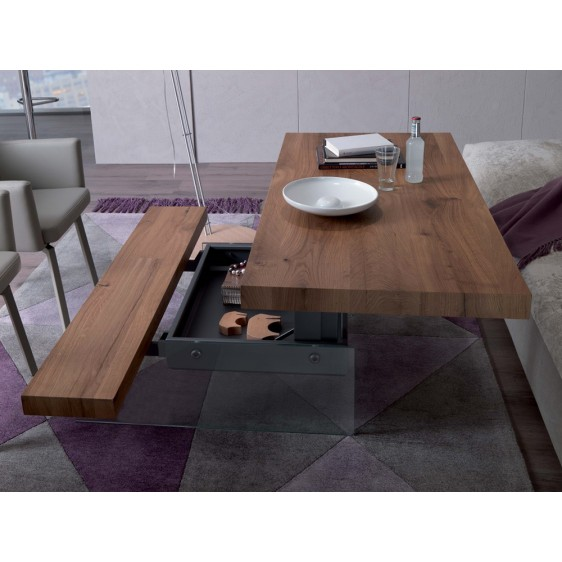Elevating multifunctional table Ozzio T063 Markus