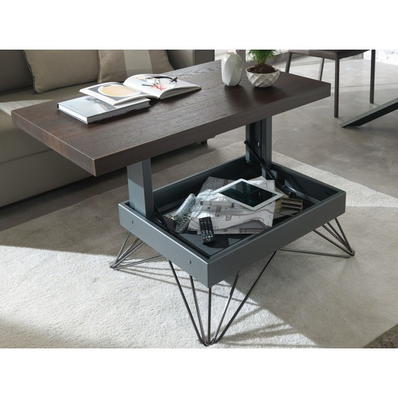 Elevating multifunctional table Ozzio T064 Radius