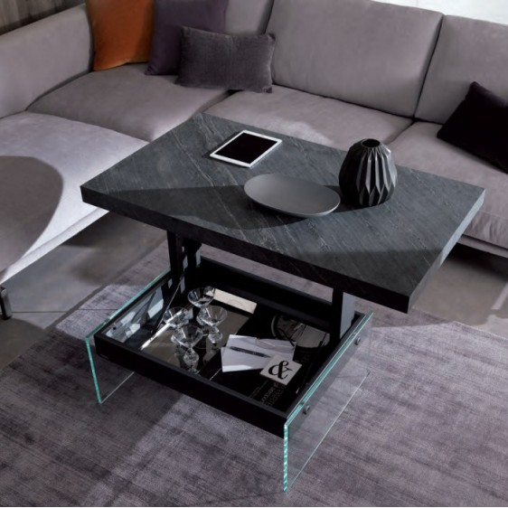 Elevating multifunctional table Ozzio T061 Bellagio