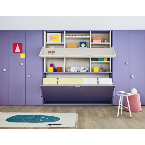 Nidi bedroom for children with wall bed