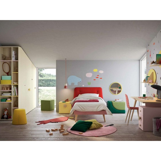 cameretta disarticolata Kids NIDI Space1