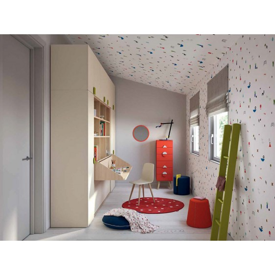 cameretta disarticolata Kids NIDI Space2