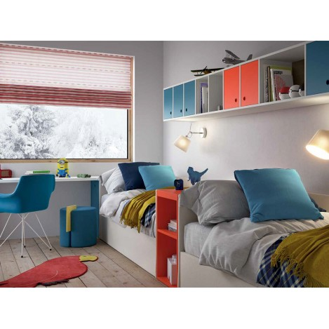 Free-form bedroom for Kids NIDI Space3